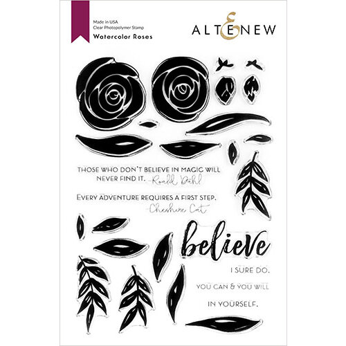 Altenew - Clear Photopolymer Stamps - Watercolor Roses