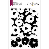 Altenew - Clear Photopolymer Stamps - Bold Floral Drape