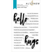 Altenew - Clear Photopolymer Stamps - Hello and Hugs