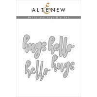 Altenew - Dies - Hello and Hugs
