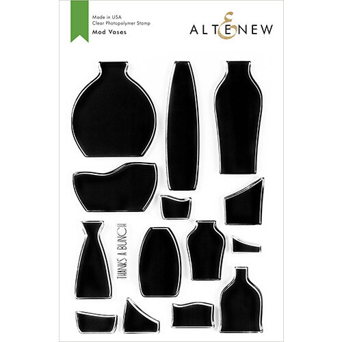 Altenew - Clear Photopolymer Stamps - Mod Vases