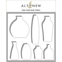 Altenew - Stencil - Mod Vases