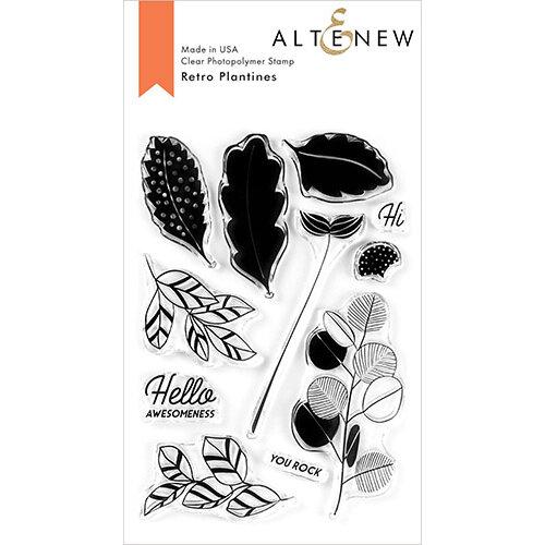 Altenew - Clear Photopolymer Stamps - Retro Plantines