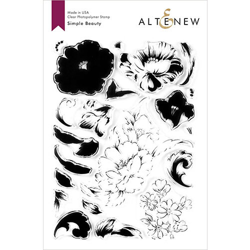 Altenew - Clear Photopolymer Stamps - Simple Beauty