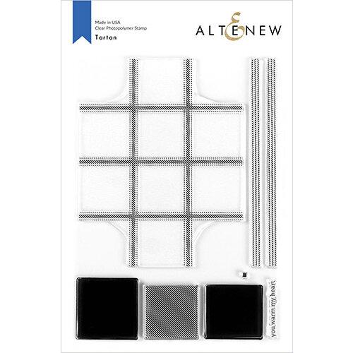 Altenew - Clear Photopolymer Stamps - Tartan