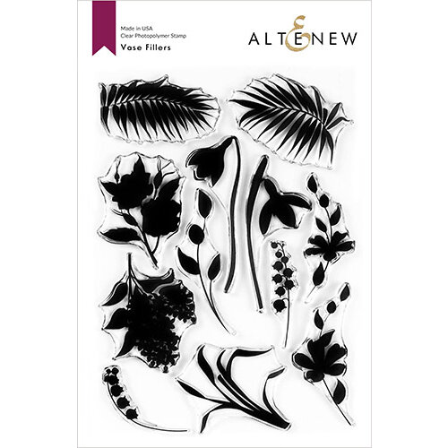 Altenew - Clear Photopolymer Stamps - Vase Fillers