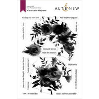Altenew - Clear Photopolymer Stamps - Watercolor Halftone