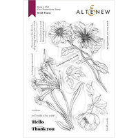 Altenew - Clear Photopolymer Stamps - Wild Flora