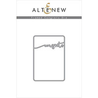 Altenew - Dies - Framed Congrats