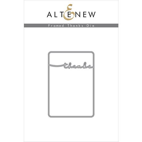 Altenew - Dies - Framed Thanks