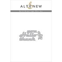 Altenew - Dies - Bold Greetings