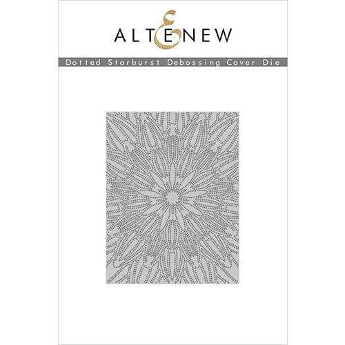 Altenew - Dies - Debossing Cover - Dotted Starburst
