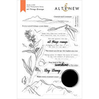 Altenew - Clear Photopolymer Stamps - All Things Orange
