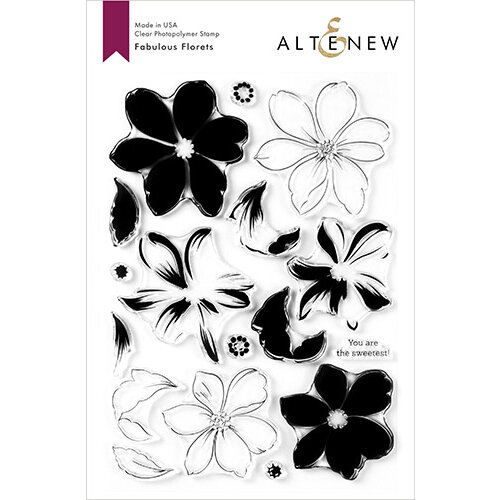 Altenew - Clear Photopolymer Stamps - Fabulous Florets