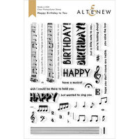Altenew - Clear Photopolymer Stamps - Happy Birthday to You