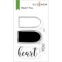 Altenew - Clear Photopolymer Stamps - Heart You