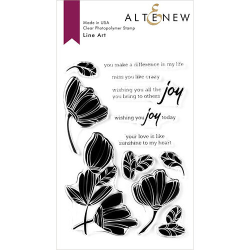 Altenew - Clear Photopolymer Stamps - Line Art