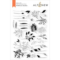 Altenew - Clear Photopolymer Stamps - Wildflower Doodles