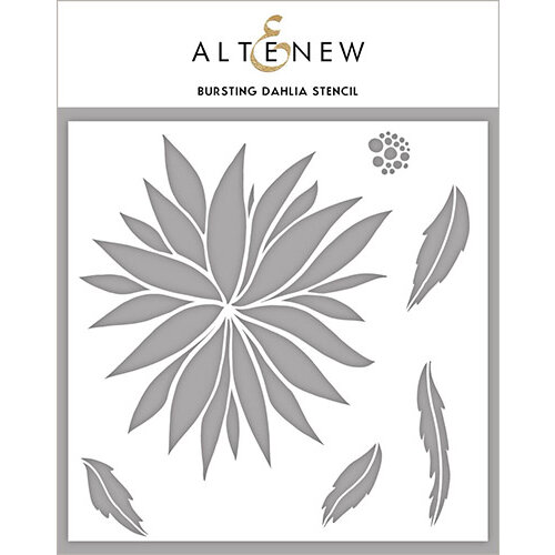Altenew - Stencil - Bursting Dahlia