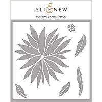 Altenew - Stencil - Bursting Dahlia