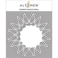 Altenew - Stencil - Geometric Roulette