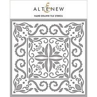Altenew - Stencil - Hand-Drawn Tile