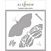 Altenew - Stencil - Tranquil Wings