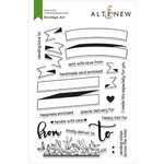 Altenew - Clear Photopolymer Stamps - Envelope Art