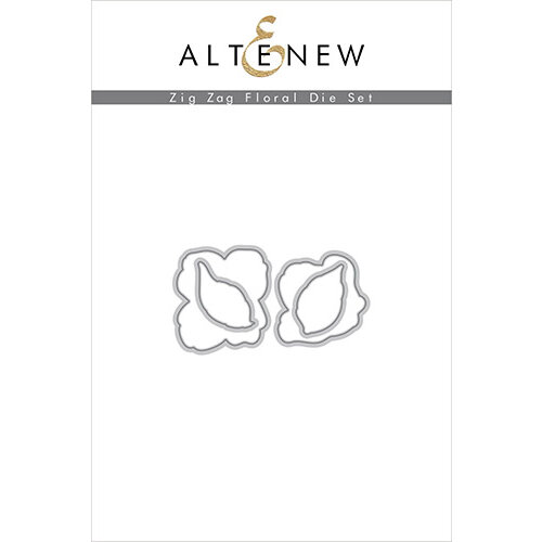 Altenew - Dies - Zig Zag Floral