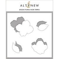Altenew - Mask Stencil - Zig Zag Floral
