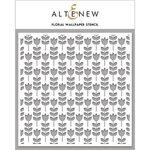 Altenew - Stencil - Floral Wallpaper