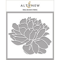Altenew - Stencil - Mega Bloom