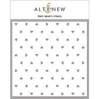 Altenew - Stencil - Teeny Hearts