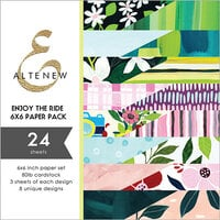 Altenew - Enjoy the Ride Collection - 6 x 6 Paper Pack