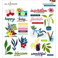 Altenew - Enjoy the Ride Collection - Chipboard Stickers