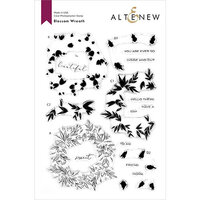 Altenew - Clear Photopolymer Stamps - Blossom Wreath