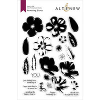 Altenew - Clear Photopolymer Stamps - Flowering Cistus