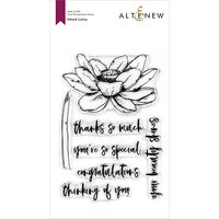 Altenew - Clear Photopolymer Stamps - Inked Lotus