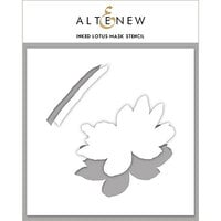 Altenew - Mask Stencil - Inked Lotus
