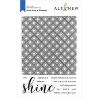 Altenew - Clear Photopolymer Stamps - Shine Like a Diamond