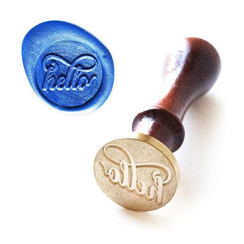 Altenew - Wax Seal - Stamp - Just Hello