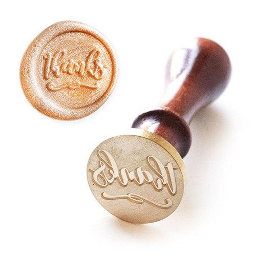 Altenew - Wax Seal - Stamp - Just Thanks