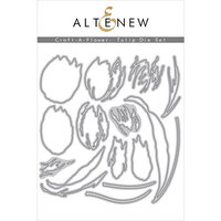 Altenew - Dies - Craft A Flower - Tulip