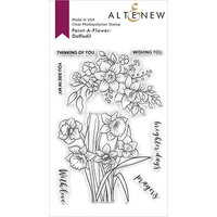 Altenew - Clear Photopolymer Stamps - Paint A Flower - Daffodil