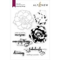 Altenew - Clear Photopolymer Stamps - Amazing Things