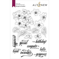 Altenew - Clear Photopolymer Stamps - Bergenia Builder