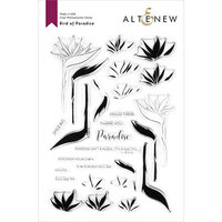 Altenew - Clear Photopolymer Stamps - Bird of Paradise