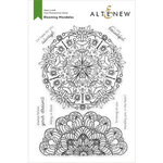 Altenew - Clear Photopolymer Stamps - Blooming Mandalas