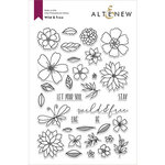 Altenew - Clear Photopolymer Stamps - Wild and Free
