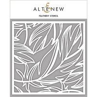 Altenew - Stencil - Feathery